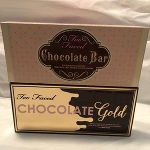 Too Faced Chocolate Bar & Chocolate Gold Palettes